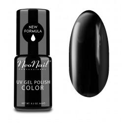 UV Nagellack 6 ml  Pure Black