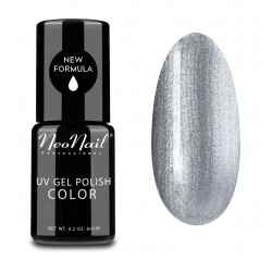 UV Nagellack 6 ml - Metalic Silver