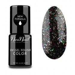 UV Nagellack 6 ml - Black Confetti