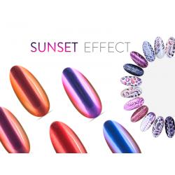 Neonail Puder Sunset Effect Pięć kolorów (A)