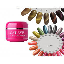 Premium Cat Eye Effekt Magnetgel Catmatic UV BASE ONE 5ml -  LYNX 20